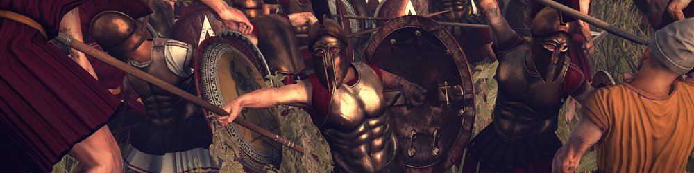 Total War ROME II Wrath of Sparta banner