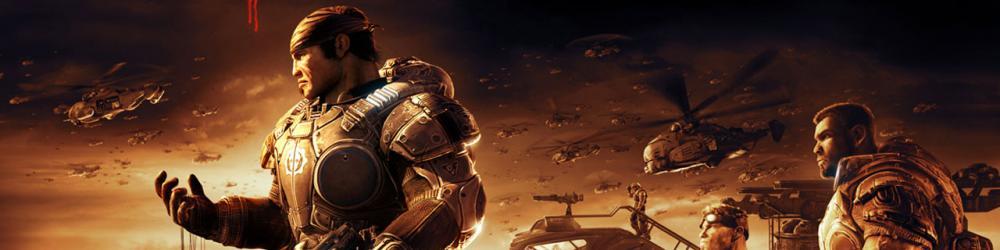 Gears of War II Xbox 360 banner