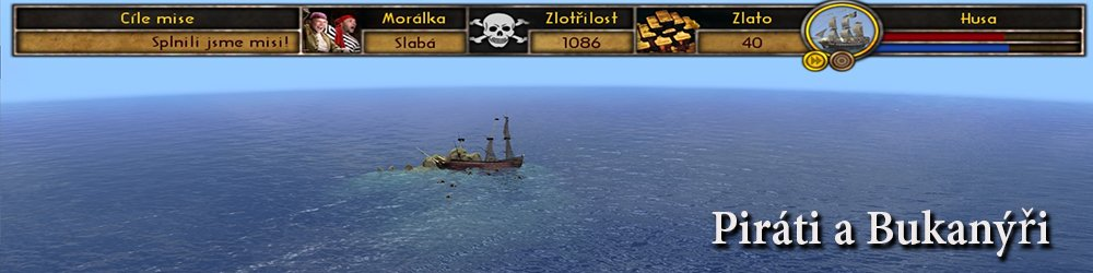 Piráti a Bukanýři banner