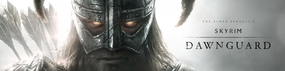 The Elder Scrolls V Skyrim Dawnguard banner
