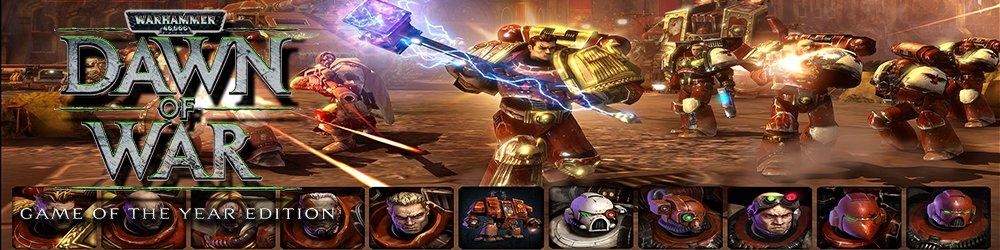 Warhammer 40,000 Dawn of War GOTY banner