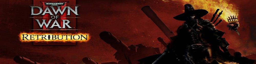 Warhammer 40,000 Dawn of War II Retribution banner
