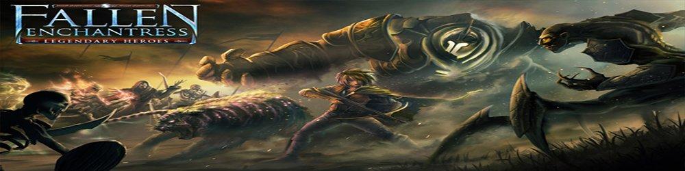 Fallen Enchantress Legendary Heroes banner