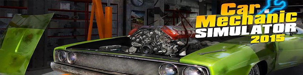 Car Mechanic Simulator 2015 banner