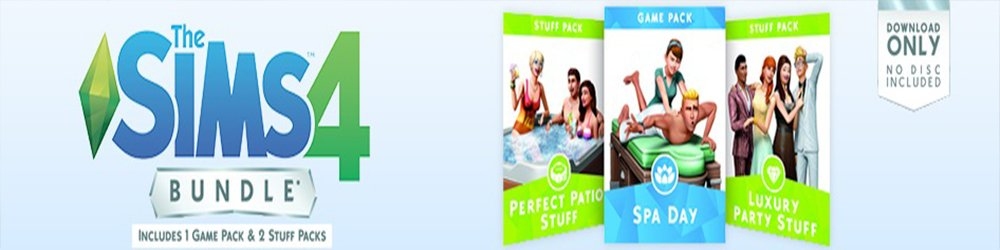 The Sims 4 Bundle Pack 1 banner