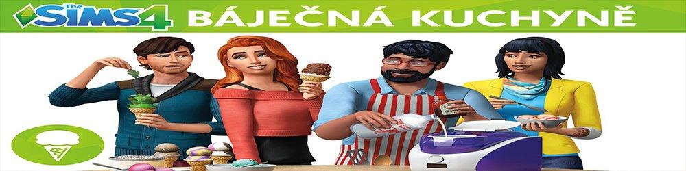 The Sims 4 Báječná kuchyně banner