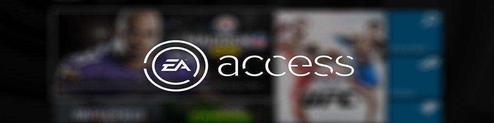 EA access Xbox One 30Dní banner