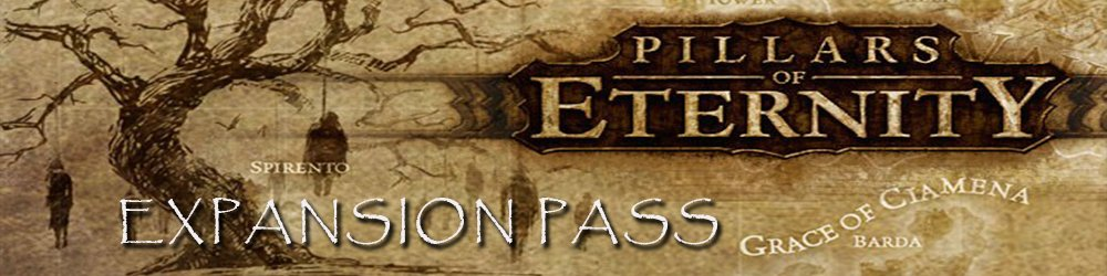Pillars of Eternity Expansion Pass banner