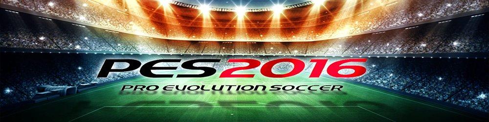Pro Evolution Soccer 2016 banner