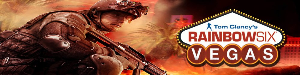 Tom Clancys Rainbow Six Vegas banner