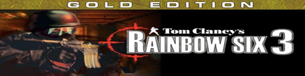Tom Clancys Rainbow Six 3 Gold banner