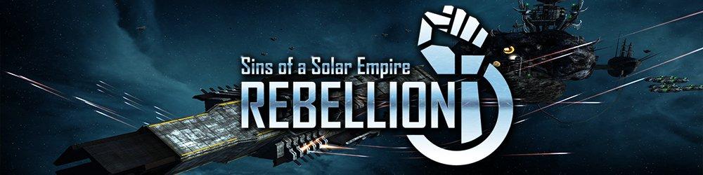 Sins of a Solar Empire Rebellion banner