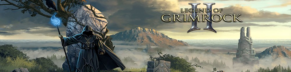 Legend of Grimrock 2 banner