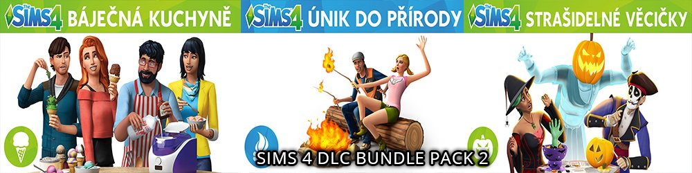 The Sims 4 Bundle Pack 2 banner