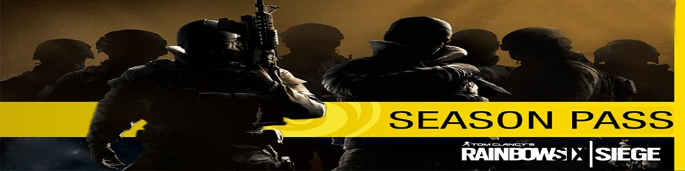 Tom Clancys Rainbow Six Siege Season Pass Year 1 banner