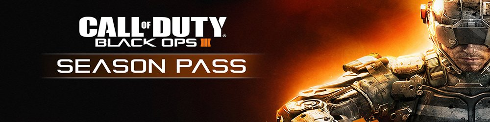 Call of Duty Black Ops III Season Pass banner