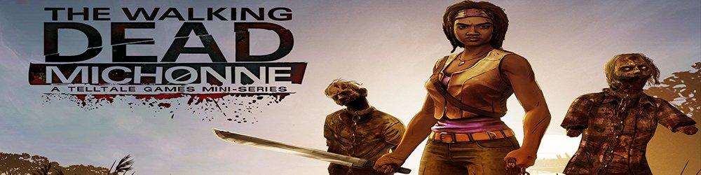 The Walking Dead Michonne banner
