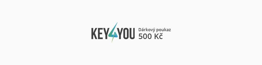 Dárkový poukaz v hodnotě 500,- CZK banner