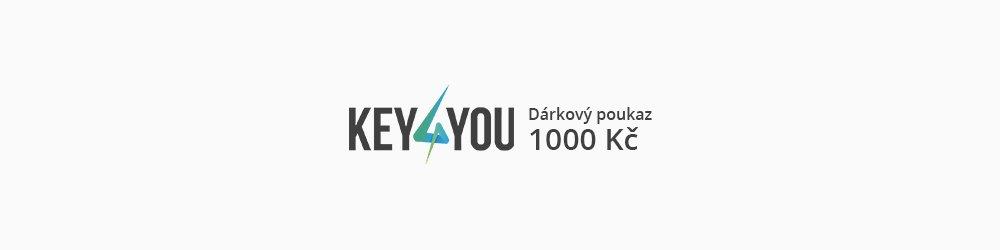 Dárkový poukaz v hodnotě 1000,- CZK banner