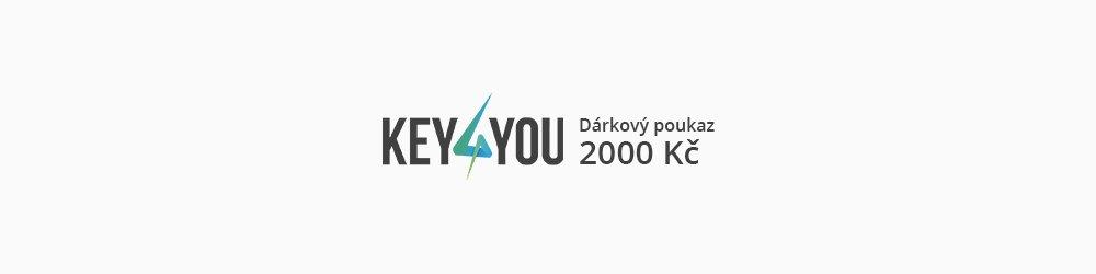 Dárkový poukaz v hodnotě 2000,- CZK banner