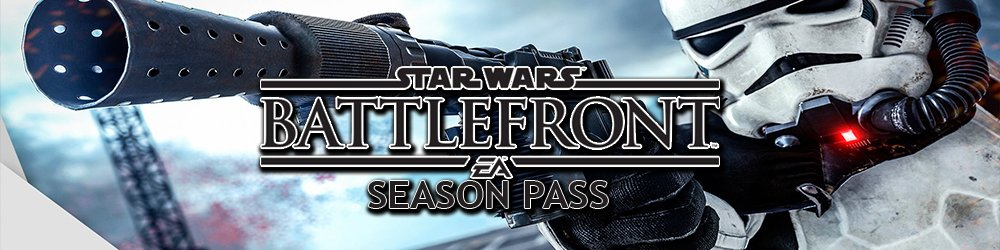 Star Wars Battlefront Season pass banner