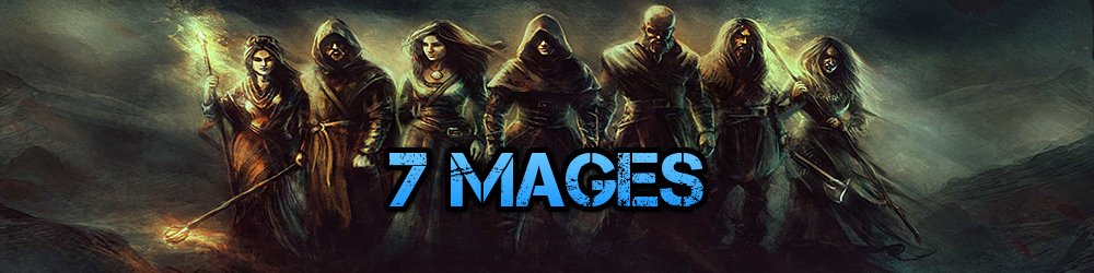 7 Mages banner
