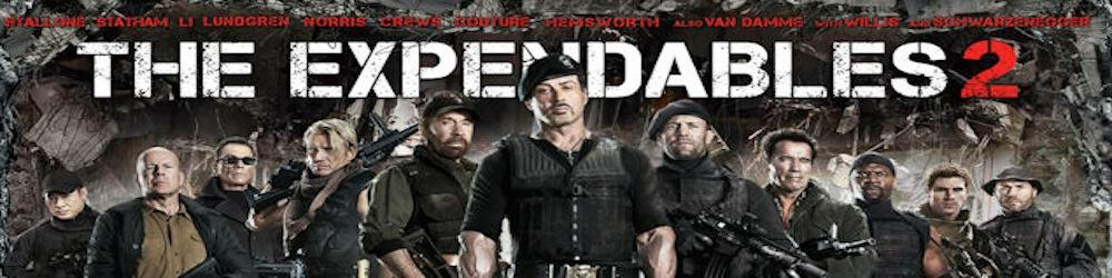 The Expendables 2 Videogame banner