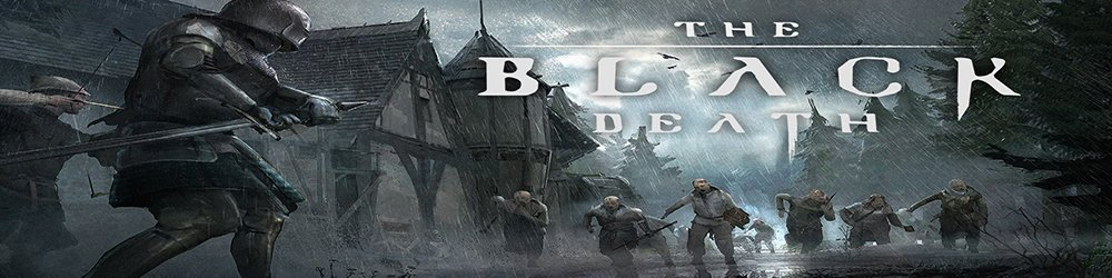 The Black Death banner