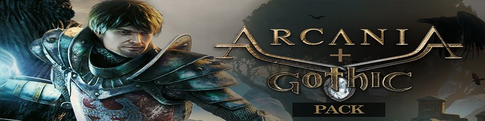 Arcania + Gothic Pack banner