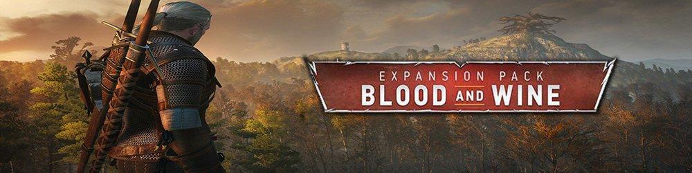 Zaklínač 3 O víně a krvi banner
