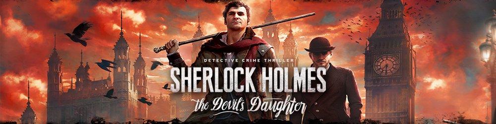 Sherlock Holmes The Devils Daughter banner