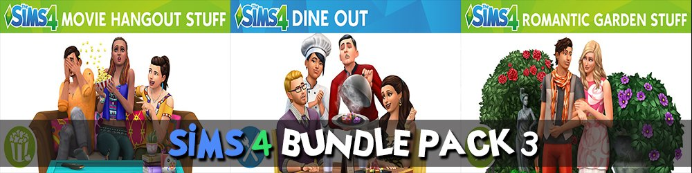 The Sims 4 Bundle Pack 3 banner