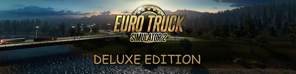 Euro Truck Simulátor 2 Deluxe Edition banner