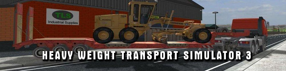 Heavy Weight Transport Simulator 3 banner
