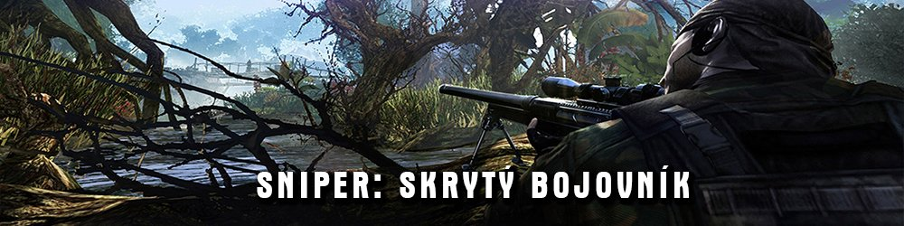 Sniper Skrytý bojovník banner