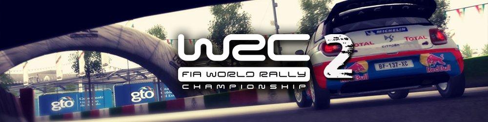 WRC 2 banner