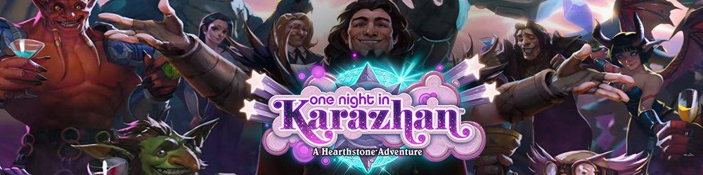 Hearthstone One Night in Karazhan banner