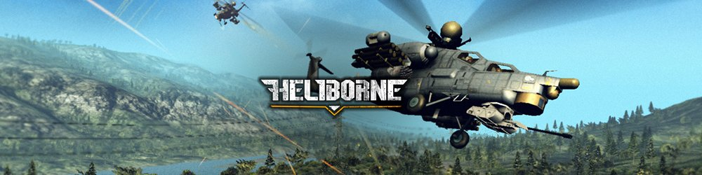Heliborne banner