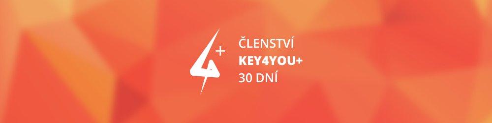 Key4You+ Členství (30 dní) banner