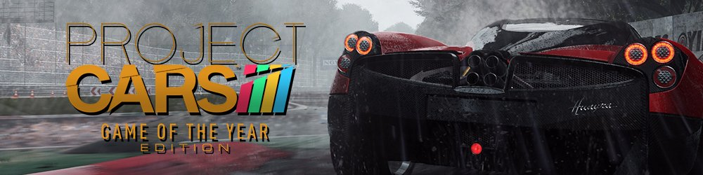 Project CARS Game of the Year Edition banner