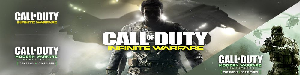 Call of Duty Infinite Warfare Legacy Edition banner