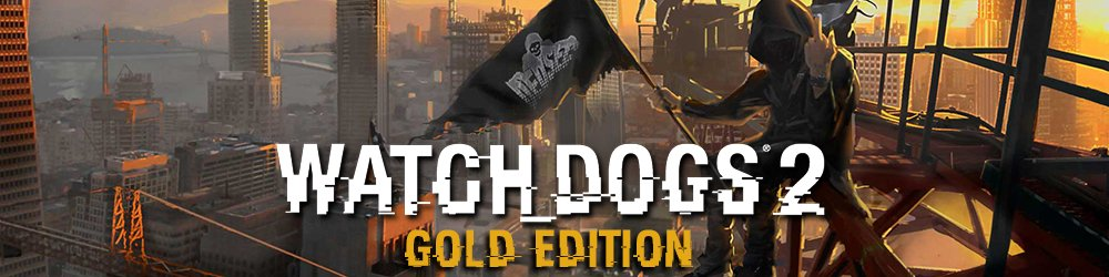 Watch Dogs 2 Gold Edition banner