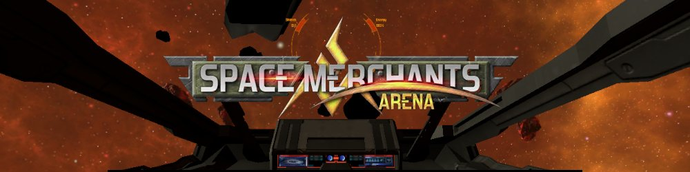 Space Merchants Arena banner