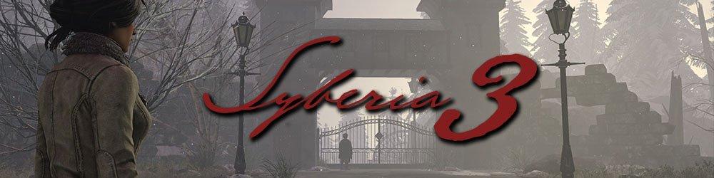 Syberia 3 banner