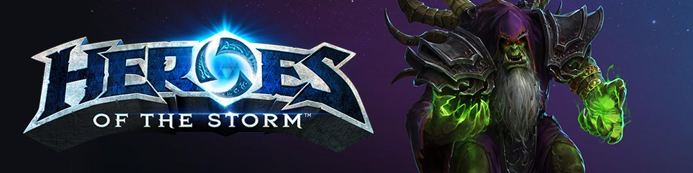 Guldan Heroes of the Storm banner