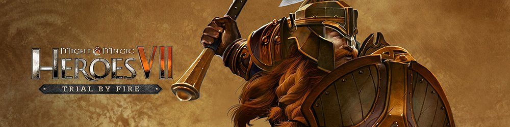 Might and Magic Heroes VII Trial by Fire banner