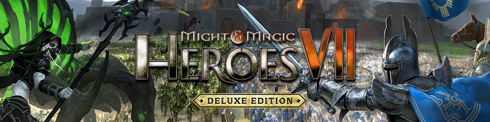 Might and Magic Heroes VII Deluxe banner