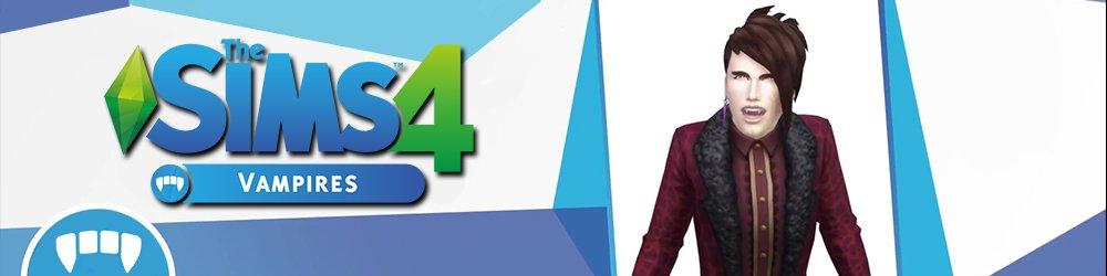 The Sims 4 Upíři banner