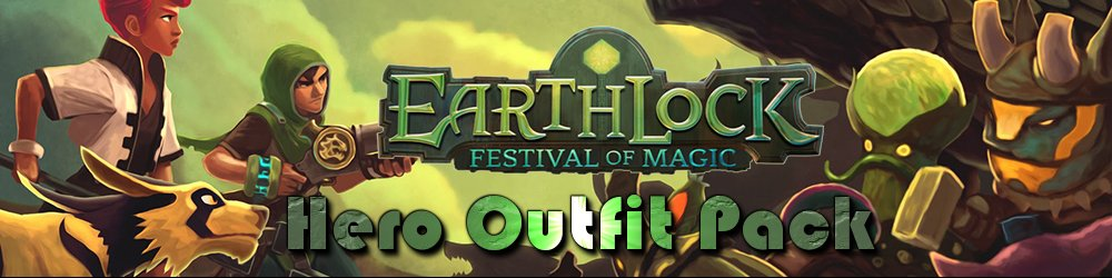 EARTHLOCK Festival of Magic Hero Outfit Pack banner