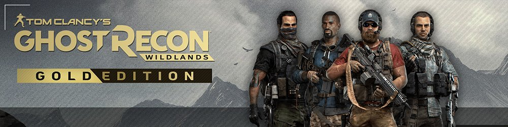 Tom Clancys Ghost Recon Wildlands Gold Edition banner